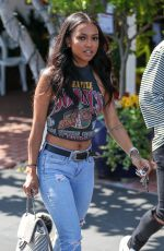 KARREUCHE TRAN Out for Lunch in West Hollywood 06/01/2017