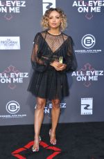 KAT GRAHAM at All Eyez On Me Premiere in Westwood 06/14/2017