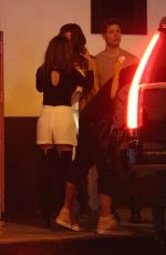 KATE BECKINSALE and MATT RIFE Kissing Out at Villa Lounge in Los Angeles 06/20/2017