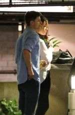 KATE BECKINSALE and MATT RIFE Night Out in Los Angeles 06/25/2017