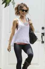 KATE BECKINSALE Heading to a Gym in Los Angeles 06/24/2017