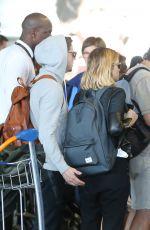 KATE MARA and JAMIE BELL at Charles De Gaulle Airport in Paris 06/24/2017