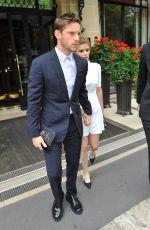 KATE MARA and Jamie Bell Leaves Their Hotel in Paris 06/24/2017