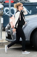 KATE MARA Leaves a Cafe in West Hollywood 05/31/2017