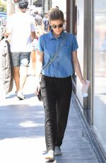 KATE MARA Out and About in Beverly Hills 06/20/2017