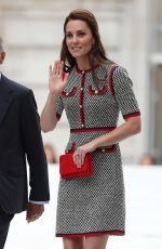 KATE MIDDLETON at New Victoria & Albert Museum Exhibition in London 06/29/2017