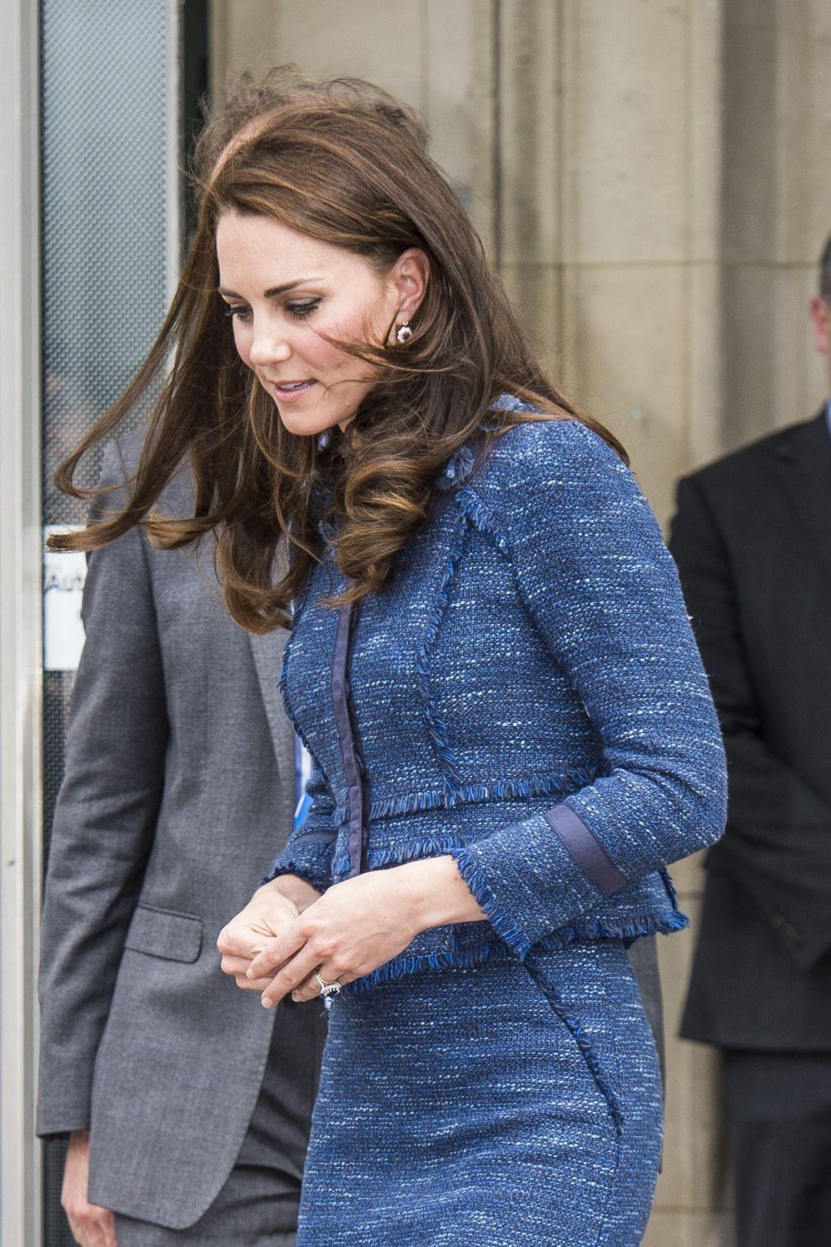 Kate Middleton Leaves Kings College Hospital In London 06