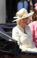 KATE MIDDLETONa at Annual Trooping the Colour Parade in London 06/17/2017
