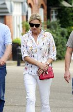 KATE MOSS Out and About in London 06/22/2017