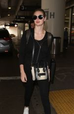 KATE UPTON at Los Angeles International Airport 06/06/2017
