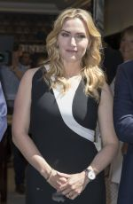 KATE WINSLET at Longines Shop Opening at Faubourg Saint-honore in Paris 06/10/2017