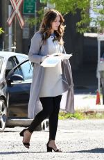 KATHARINE MCPHEE on the Set of The Lost Wife of Robert Durst in Vancouver 05/31/2017