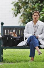 KATHARINE MCPHEE on the Set of The Lost Wife of Robert Durst in Vancouver 06/07/2017