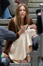 KATHARINE MCPHEE on the Set of The Lost Wife of Robert Durst in Vancouver 06/17/2017