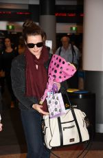 KATHERINE LANGFORD at Airport in Sydney 05/31/2017