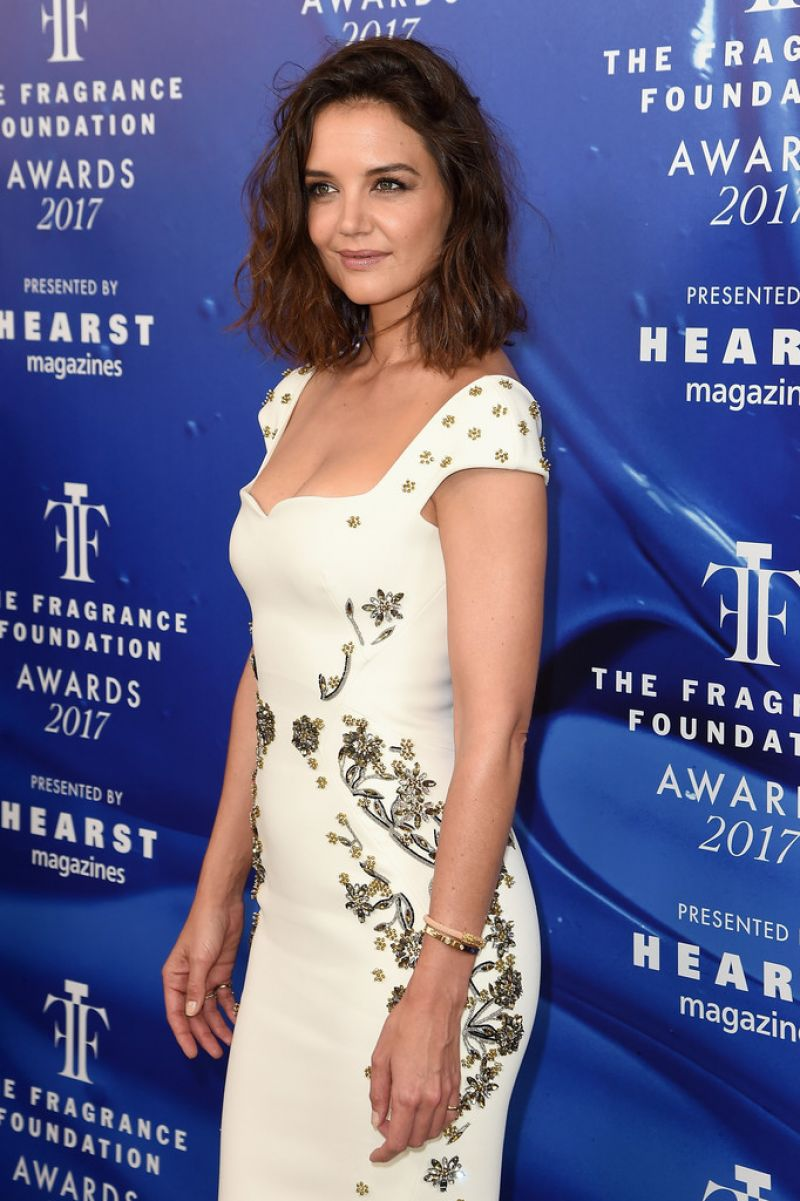 KATIE HOLMES at 2017 Fragrance Foundation Awards in New York 06/14/2017