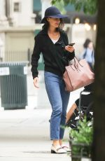 KATIE HOLMES Leaves a Spa in New York 06/16/2017