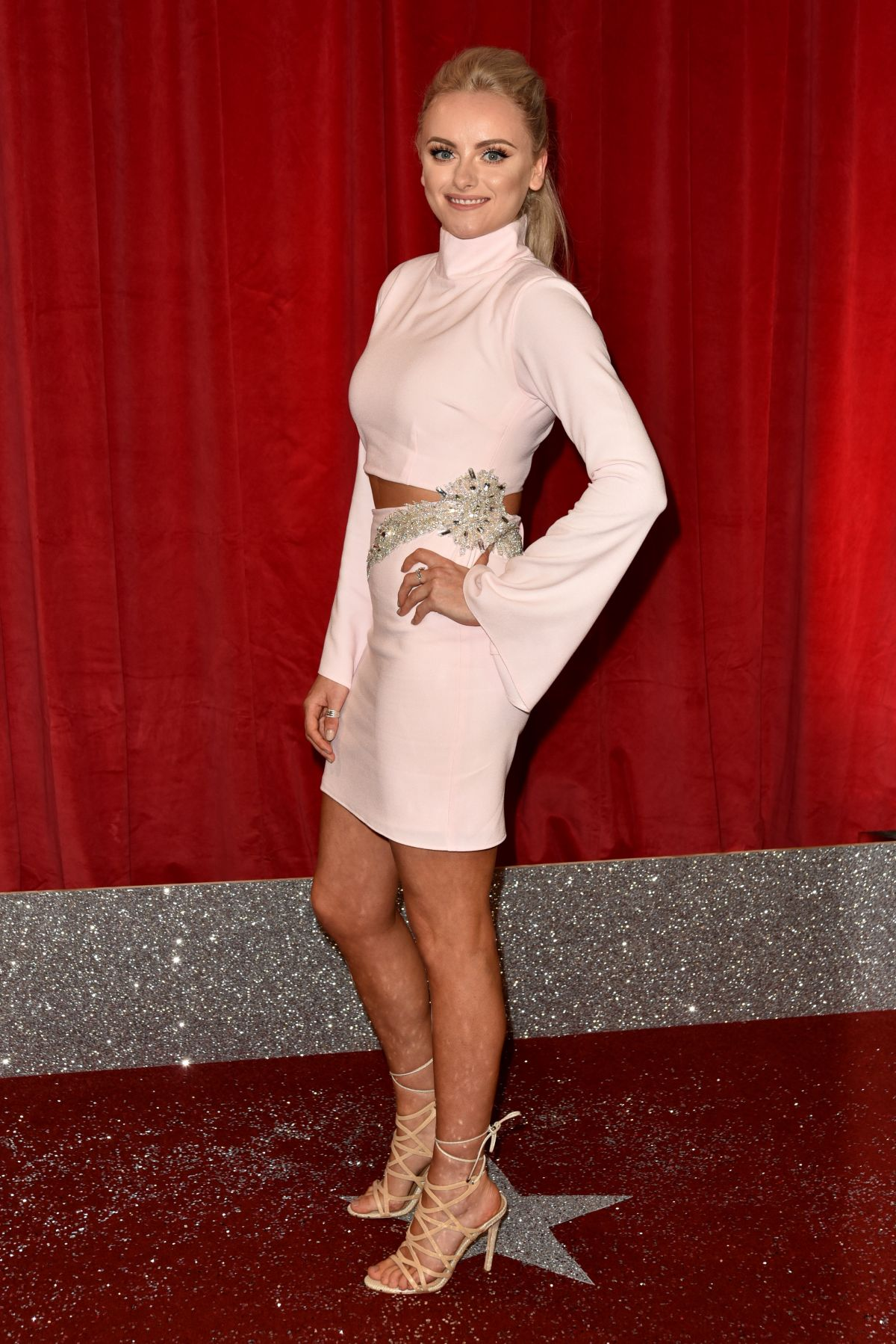 KATIE MCGLYNN at British Soap Awards in Manchester 06/03/2017
