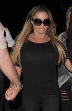 KATIE PRICE at G.A.Y. in London 06/04/2017