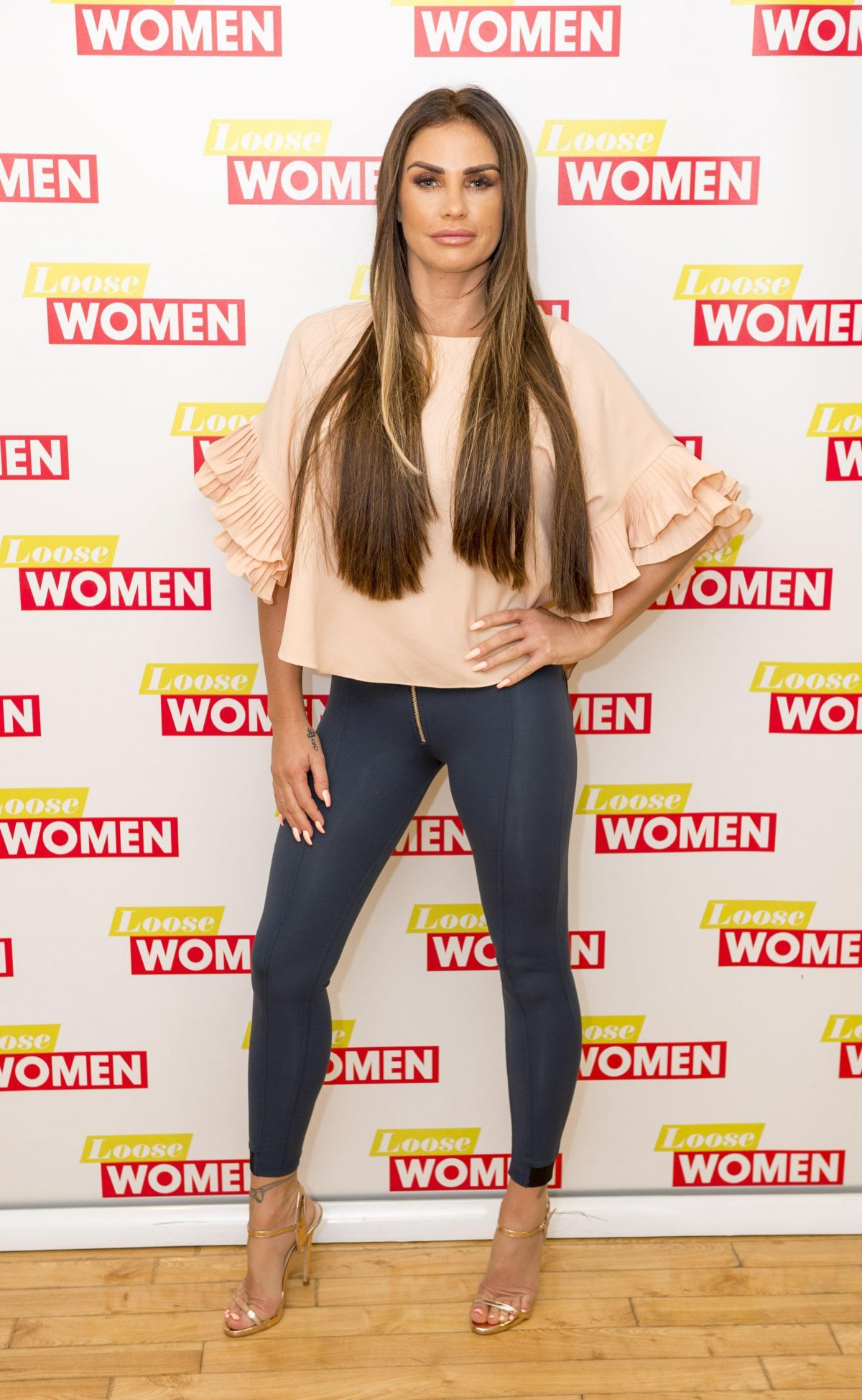 KATIE PRICE at Loose Women TV Show in London 06/15/2017