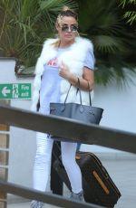 KATIE PRICE Leaves ITV Studios in London 06/07/2017