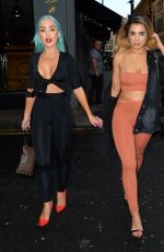 KATIE SALMON and HELEN BRIGGS Night Out in Manchester 06/12/2017