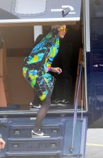 KATY PERRY Boarding a Helicopter in London 06/24/2017