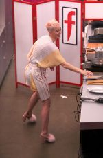 KATY PERRY Cooking at Witness House in Los Angeles 0609/2017