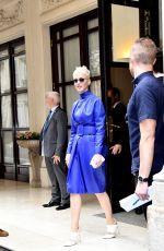 KATY PERRY Leaves Hotel Meurice in Paris 06/02/2017