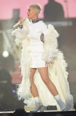 KATY PERRY Performs at One Love Manchester Benefit Concert in Manchester 06/04/2017