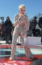 KATY PERRY Performs at Witness World Wide Youtube Livestream Concert in Los Angeles 06/12/2017