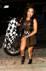 KEYSHIA COLE at Catch LA in West Hollywood 06/14/2017