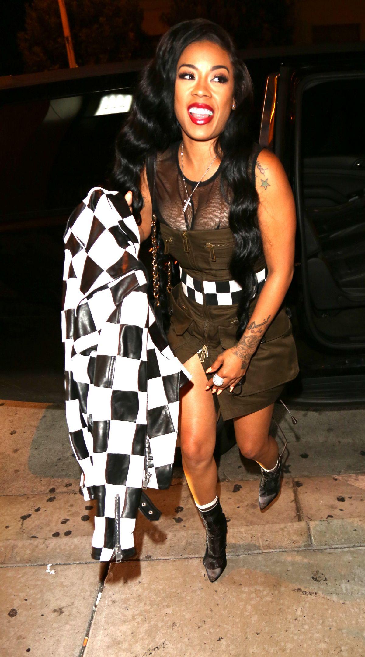 KEYSHIA COLE at Catch LA in West Hollywood 06/14/2017 ...