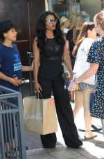 KEESHA SHARP Out and About in Hollywood 06/17/2017