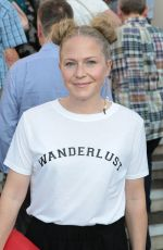 KELLIE BRIGHT Arrives at New Wimbledon Theatre in London 06/17/2017