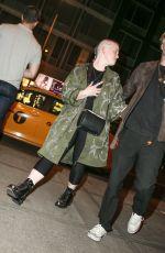 KELLY OSBOURNE Arrives at Soho Grand Hotel in New York 06/13/2017