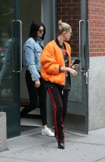 KENDALL JENNER and HAILEY BALDWIN Leaves Kanye