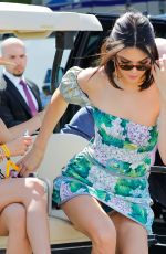 KENDALL JENNER Arrives at Liberty State Park in Jersey City 06/03/2017