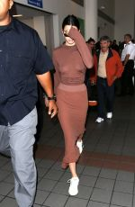 KENDALL JENNER at LAX Airport in Los Angeles 06/08/2017