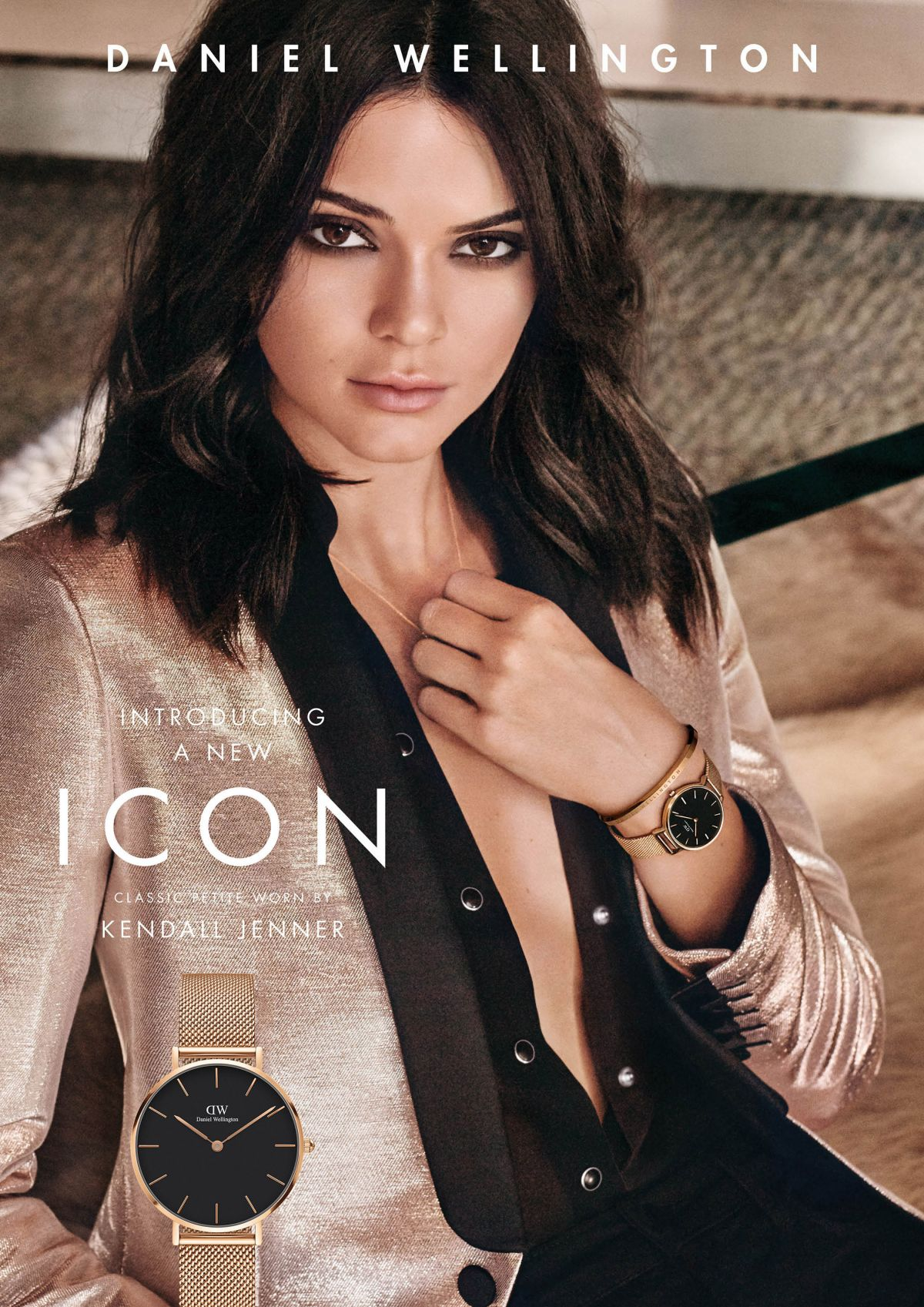 KENDALL JENNER for Daniel Wellington Campaign 2017