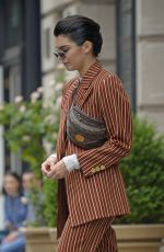 KENDALL JENNER Leaves Phillip Lim Store in New York 06/05/2017
