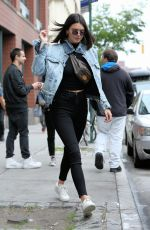 KENDALL JENNER Out in New York 06/04/2017
