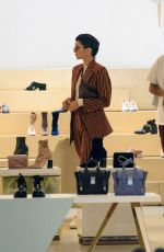 KENDALL JENNER Shopping in East Village in New York 06/05/2017