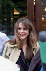 KERI RUSSELL Arrives at Her Hotel in New York 06/05/2017