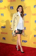 KERI RUSSELL at The Americans FYC Event in Los Angeles 06/01/2017