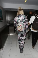 KESHA SEBERT at LAX Airport in Los Angeles 06/15/2017