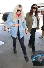 KESHA SEBERT at Los Angeles International Airport 06/01/2017