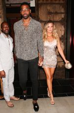 KHLOE KARDASHIAN Leaves Her 33rd Birthday Party in West hHollywood 06/25/2017