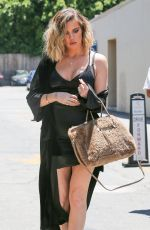 KHLOE KARDASHIAN Out and About in Encino 06/14/2017