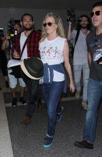 KIM BASINGER at LAX Airport in Los Angeles 06/22/2017